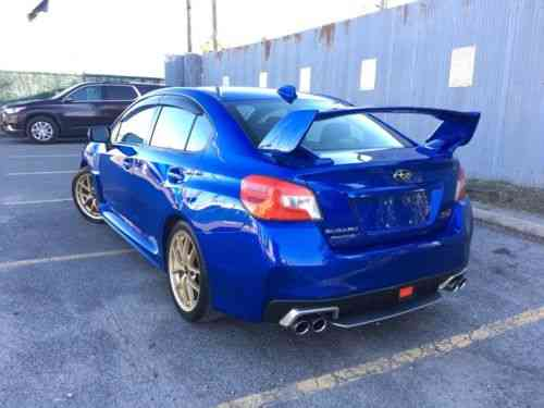 Subaru Wrx Sti Launch Edition >> Subaru Wrx Sti Launch Edition 2015