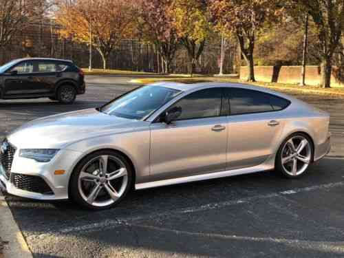 Audi Rs7 Prestige 2016 Certified Pre Owned Audi Rs7 With Used