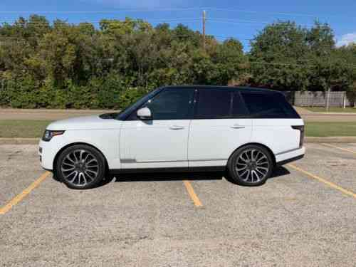 Range Rover Autobiography 2016 >> Land Rover Range Rover Autobiography 2016 Great Condition
