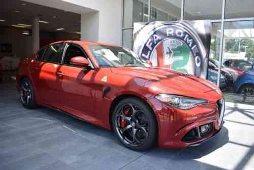 alfa romeo giulia quadrifoglio 2017 available at used. Black Bedroom Furniture Sets. Home Design Ideas