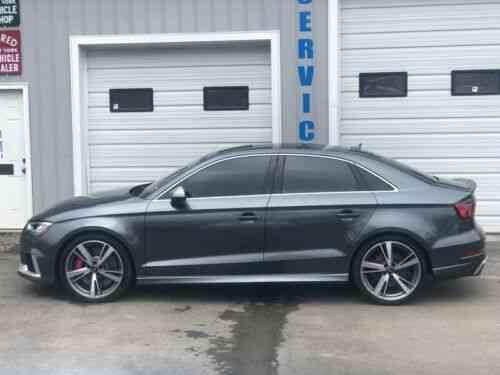 Audi RS3 QUATTRO UNITRONICS TUNE (2017)