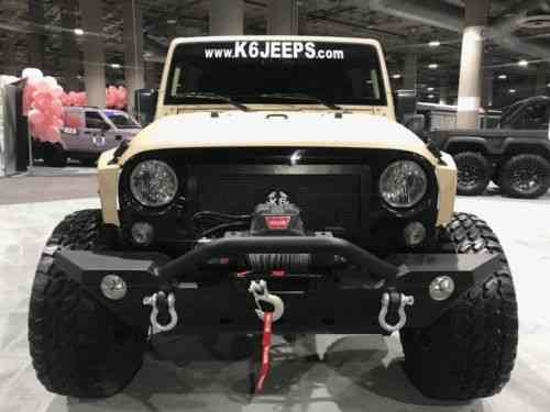 Jeep Wrangler K6 6x6 6 Wheel Drive Jeep (2017)