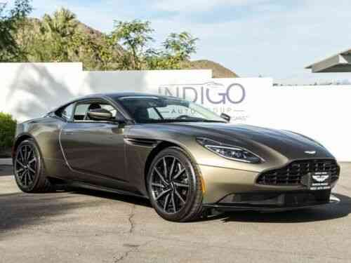 Aston Martin Db11 8 Speed Automatic 486 Miles Arden Green Used Classic Cars