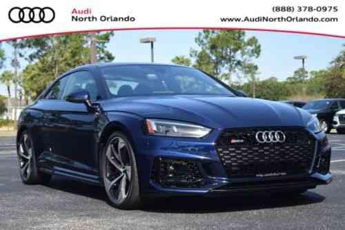 Audi Rs5 2018 Audi North Orlando The 1 Audi Sport Dealer In Used