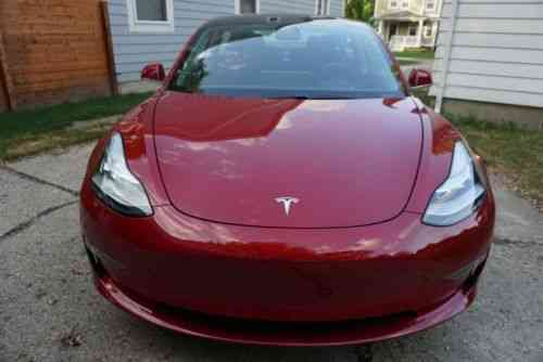 Tesla Model 3 Premium Long Distance Enhanced Autopilot RWD (2018)