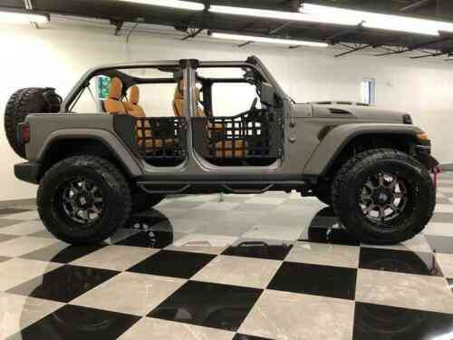 Lifted Jeep Wrangler >> Jeep Wrangler Unlimited Sting Grey Kevlar Jl Custom Lifted Used