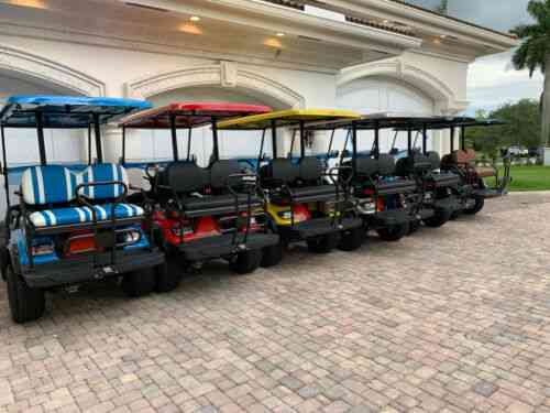 2019 Icon Ev Street Legal Electric Golf Cart 4 Passenger