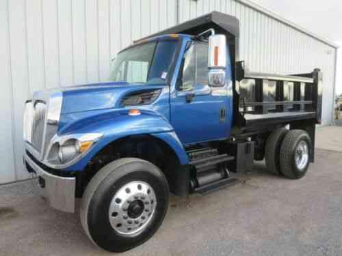 7300 Dt 466 Diesel Automatic 10 Ft Dump Bed Body Haul Truck Vans Suvs And Trucks Cars
