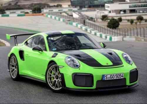 Porsche 911 Gt2rs Pts Weissach 2018 Porsche 911 Gt2rs Used Classic Cars