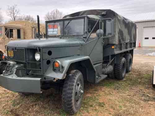 Am General American General M35a2 Winch Truck Ldt-465 Multi