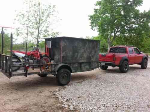 Camper Trailer, Hunting And Fishing