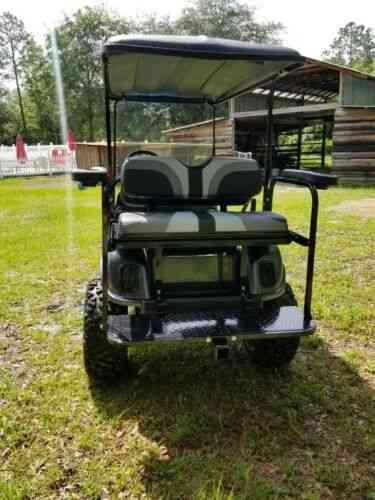 Custom Ezgo Big Block Gas Golf Cart Lifted