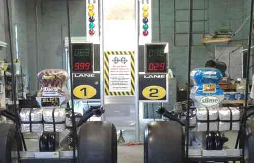 Drag Race Simulator, Game - Man Cave - Practice Tree - Rail Dragster No  Reserve