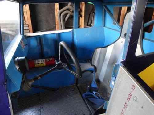 Dwarf Race Car 35 Chevy Coupe with KZ1000 Engine