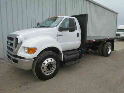 F750 Cummins 16ft Dump Flat Bed Body Haul Delivery Truck Vans Suvs And Trucks Cars