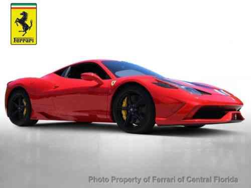Ferrari 458 2015 Ferrari Of Central Florida Sales Maserati Used Classic Cars