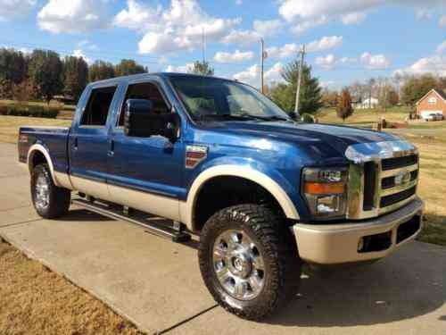 Lifted Ford F250 >> Ford F 250 King Ranch 2008 Lifted Ford F250 King Ranch
