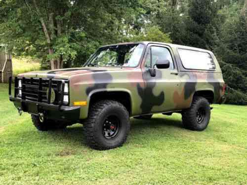 Fully Restored M1009 CUCV Chevy K5 Blazer 6 2 Diesel 4x4