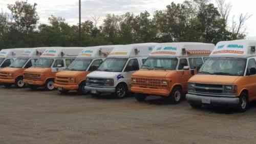 Ice Cream Trucks For Sale >> Ice Cream Truck Business For Sale Up For Sale Here Is A Fleet Vans