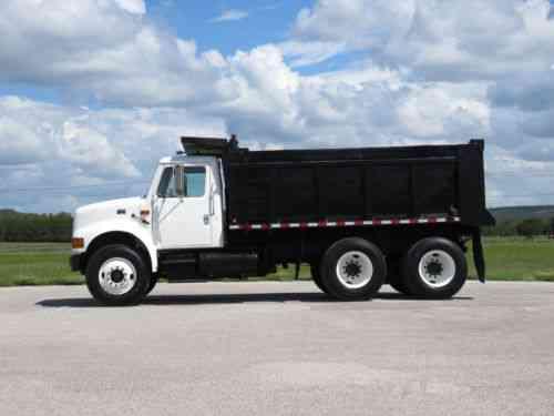 International 4900 Dump Truck, PRE-EMISSIONS! Auto, see VIDEO! (1998)