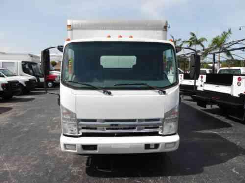 ISUZU NPR DIESEL BOX TRUCK 50K Miles Box Truck (2011)