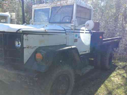Kaiser Jeep 2 5 ton 6x6 Military truck, not bobbed, not 5 ton