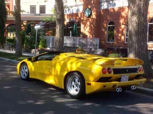 Lamborghini Diablo Vt Roadster Beautiful Used Condition Full Used