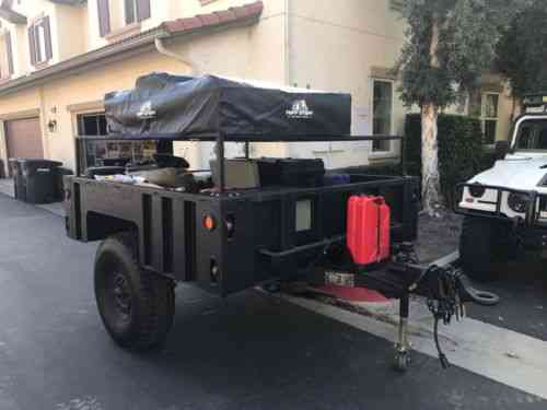 M1101 M1102 Off Road Overland Camping Trailer