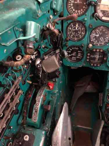 Mig-21 Jet fighter cockpit Military aircraft
