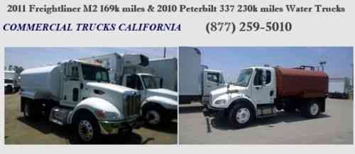 Peterbilt 337 2011 Freightliner M2 New 2500 Gal Tank Vans Suvs And Trucks Cars