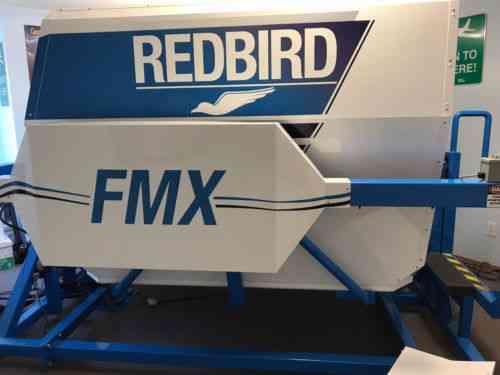 Redbird Fmx Full-motion Flight Simulator (aatd) Control