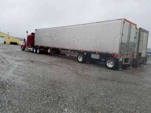 Lazy Daze Rv >> Reefer Trailer 2006 51 6 Fixed Spread Axle Great Dane ...