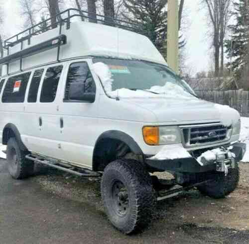 ford 4x4 econoline 2003 350 expedition 3l diesel vans sportsmobile ujor series listedbuy wyoming vehicle e350 jackson conversion cars extended