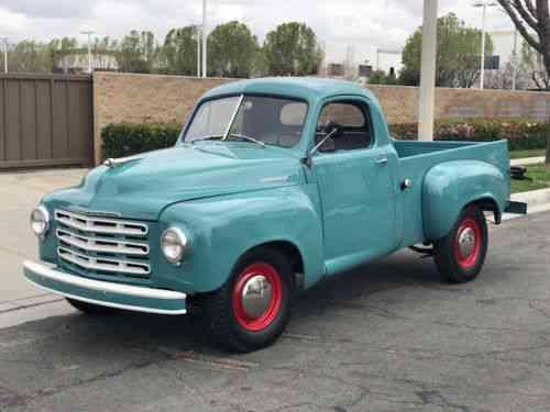 Studebaker Truck (1952) Cnc Motors Inc 1018 East 20th Street: Used Classic Cars