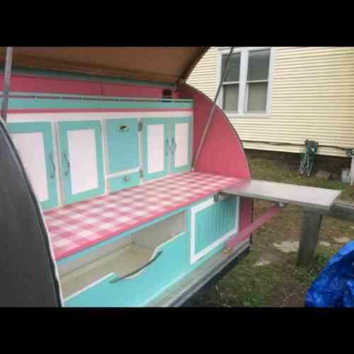 Teardrop Camper trailer 5' X 8' Home built 2015 never used