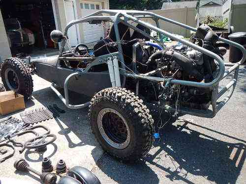 Volkswagen Dune Buggy Sand Rail Diesel TDI VW project with a Trailer