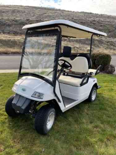 Zone Spark 48 Electric Golf Cart Street Legal With License Vans Suvs And Trucks Cars